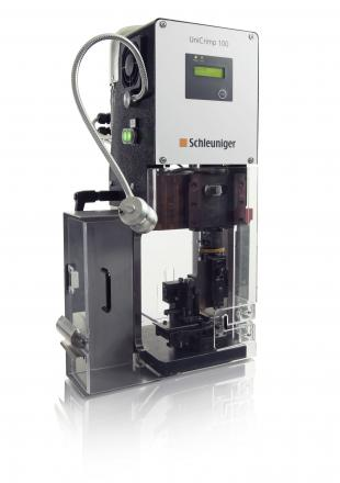 Benchtop wire crimping machines